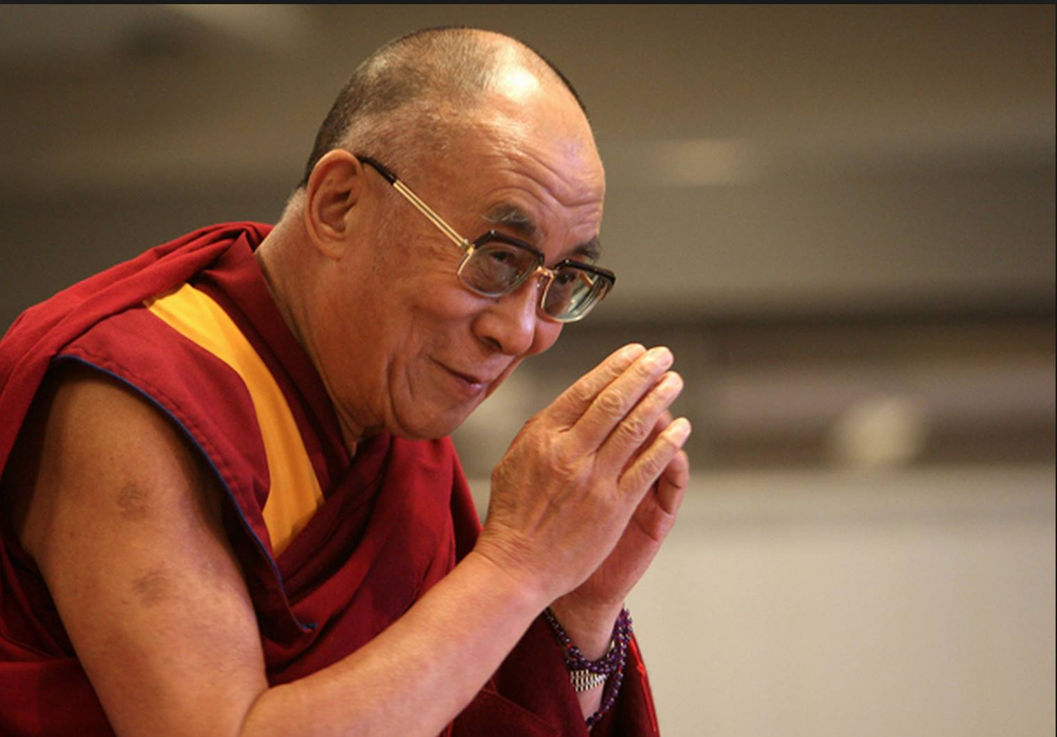 "His Holiness the Dalai Lama: Geshe Pabongka Rinpoche says: ""If one is capable, liberation can be found even while remaining as an householder""."