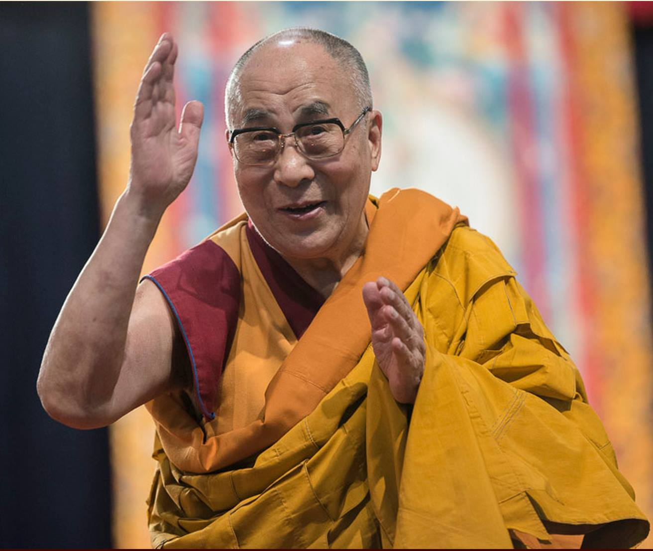 His Holiness the Dalai Lama: The only way in which we can do this is by means of reasoning and analysis.