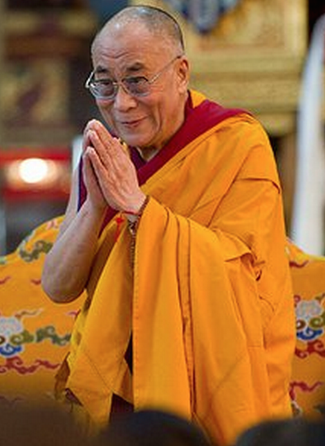 His Holiness the Dalai Lama: We tend to relate to the external world as if the physical world that is out there possesses some kind of independent reality of its own that is independent of my perception and has some kind of discrete reality.