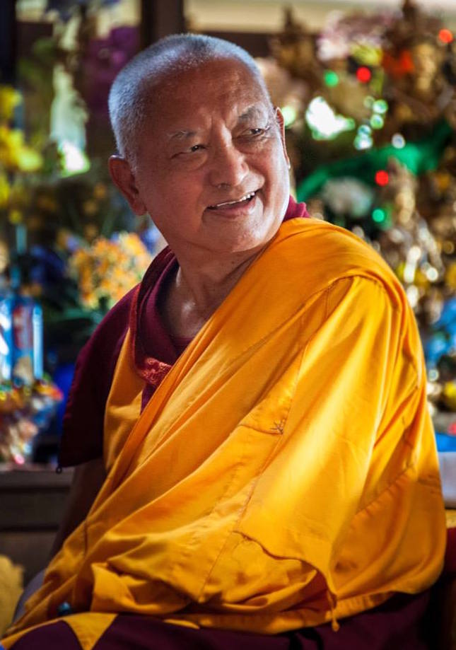 Lama Zopa Rinpoce: In ognuno di noi sorgeistintivamente la convinzione di un io concreto e esistente in modo indipendente.