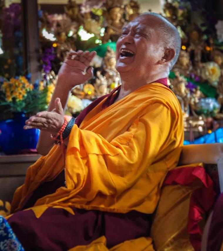 Lama Zopa Rinpoce: In questo modo otteniamo la felicità ultima della liberazione.