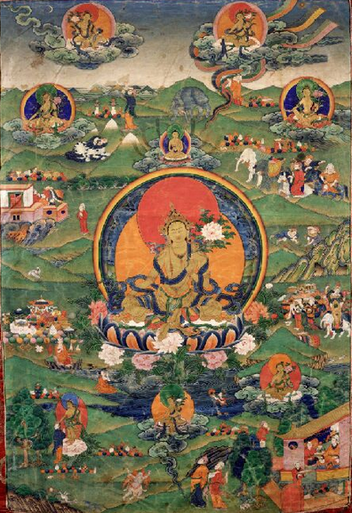 Shakyamuni Buddha: He or she needs to keep in view, fully and in detail, the five aggregate factors of his or her experience and those as devoid of self-establishing nature.