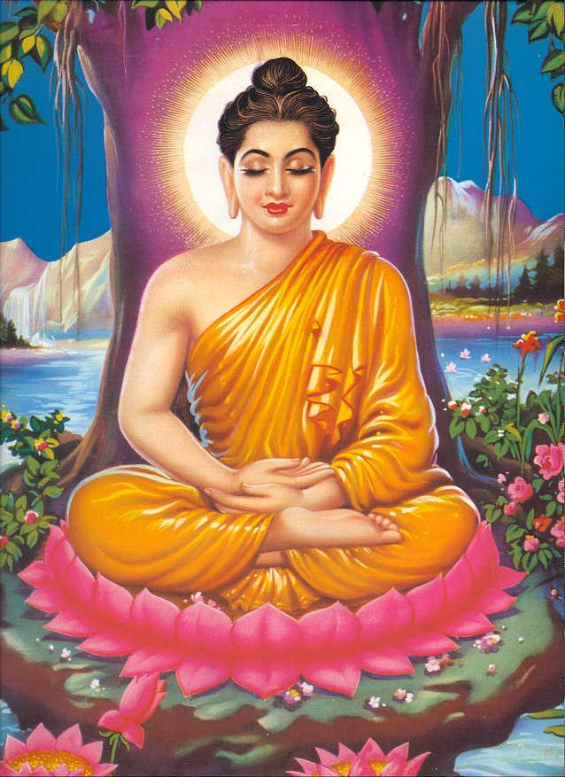 """Buddha Sakyamuni: """"Se uno smette di odiare, allora otterrà gli otto tipi di dharma della gioia della mente """"."""