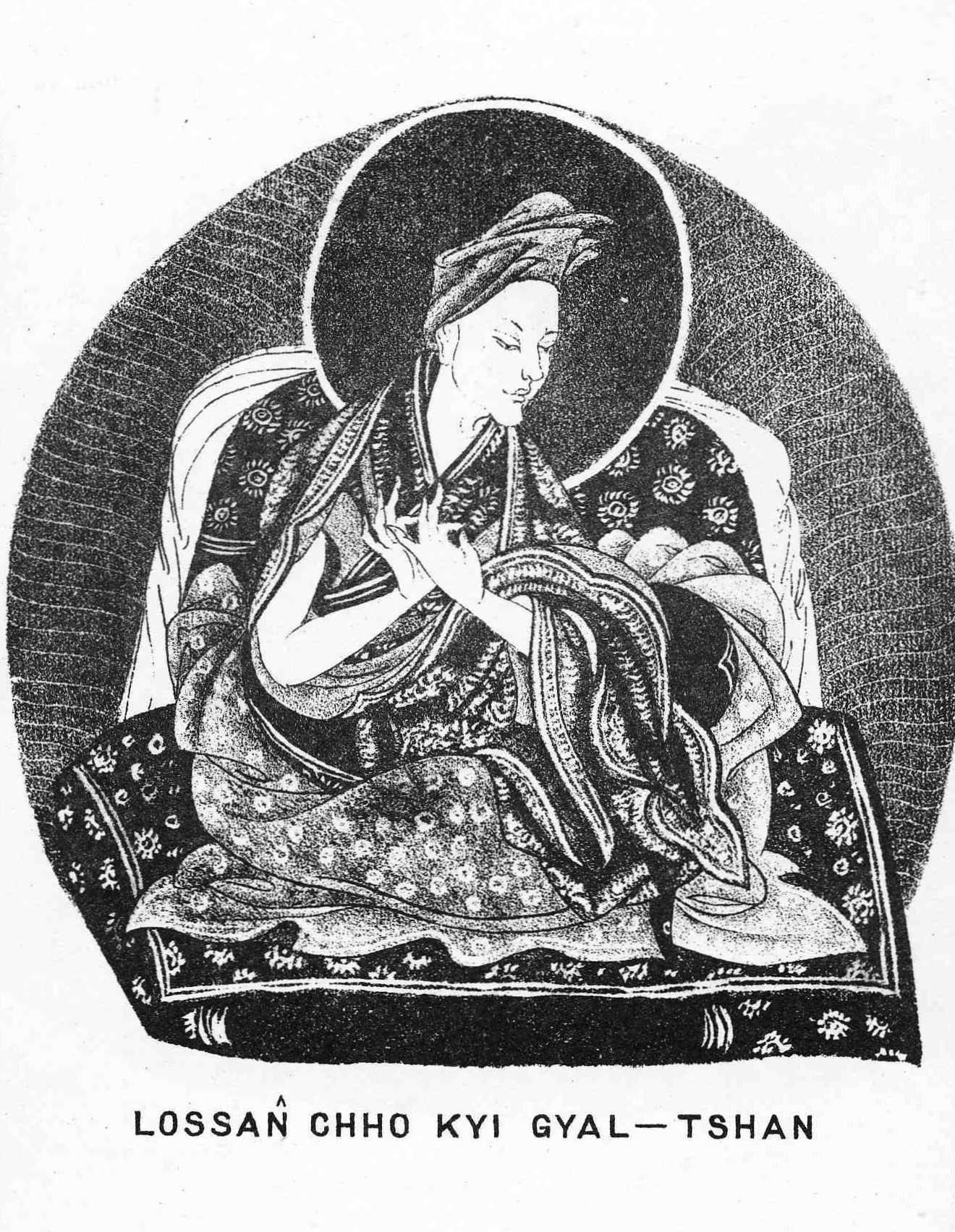 The First Panchen Lama Lozang Chokyi Gyeltsen