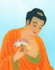 """Buddha Sakyamuni, Kalama Sutta: """"O Kalama, non abbandonandosi all'odio, e non trovandosi mentalmente sopraffatto e vinto dall'odio, questa persona non prenderà la vita altrui, non ruberà, non commetterà adulterio e non racconterà bugie; inciterà anche gli altri a farne altrettanto. Gli ci vorrà molto per che ne risulti il proprio beneficio e la propria felicità? """"."""