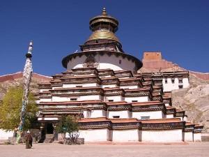 Il gran Stupa di Gyantze Tibet