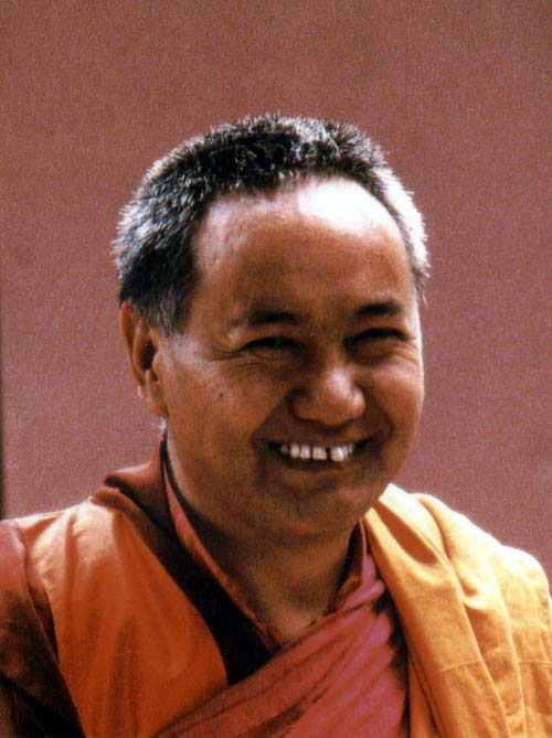 Lama Thupten Yesce 1982
