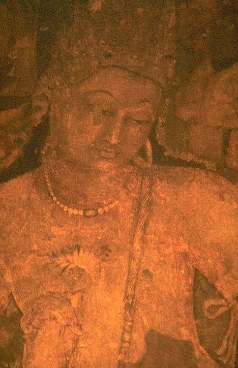 """Buddha Sakyamuni, Il Sutra del Cuore: """"Perciò, Shariputra, nella vacuità non c'è forma, né sensazione, né discriminazione, né fattore di composizione, né coscienza. Non c'é occhio, né orecchio, né naso, né lingua, né corpo, né mente""""."""