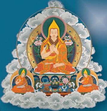 Je Tzong Khapa, chiamato familiarmente Je Rinpoche, nacque nel 1357 nella regione di Amdo, nella parte orientale del Tibet allora vicina al confine cinese.