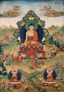 Dhammapada 25: Elevandosi per mezzo della riflessione, dell'introspezione e dell'autodominio, l'uomo saggio costruisce per sé un isola che l'inondazione non può sommergere.