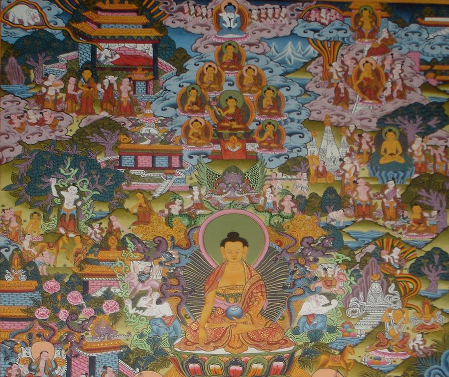 Dhammapada 35: Il pensiero dominato reca felicità.