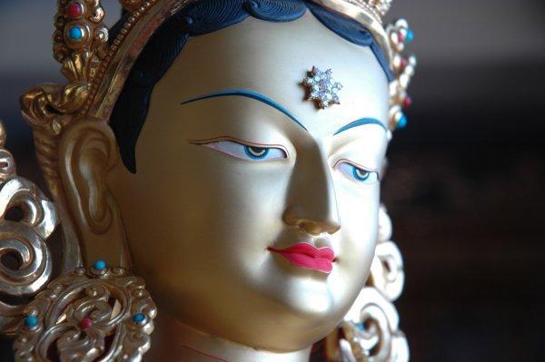 Dhammapada 118: Se un uomo compie il bene, ripeta ancora la buona azione e in essa trovi compiacimento. L'accumulo di bene, infatti, è fonte di felicità.