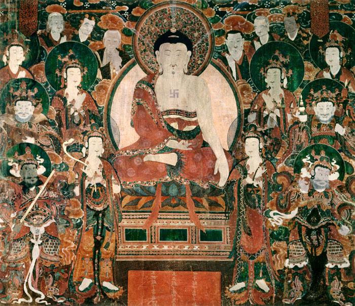Dhammapada 205: Chi ha assaggiato la dolcezza della solitudine e il nettare della meditazione non ha dolori né peccato, avendo già sorbito la gaia essenza della legge.