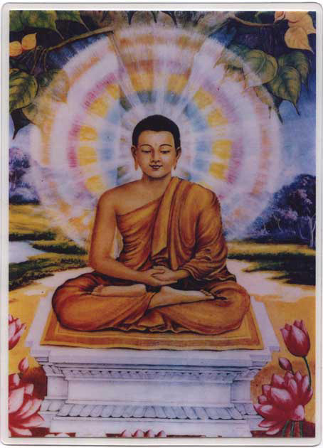 """Buddha Sakyamuni, Vimalakirti Nirdesa Sutra 3: Il Dharma è onnipresente, perché è come lo spazio infinito. Esso è senza colore, marchio, o forma, perché è libero da ogni processo. È privo del concetto di """"mio"""", perché è libero dalla abituale nozione di possesso. È senza ideazione, perché è libero da mente, pensiero, o coscienza. È incomparabile, perché non ha antitesi."""