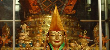 Lama Tzong Khapa il fondatore della Scuola Ghelupa
