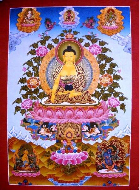Buddha Sakyamuni: Or così anche appunto, o monaci, io ho esposto il Dhamma come zattera, atto a salvarsi, non a tenersi.
