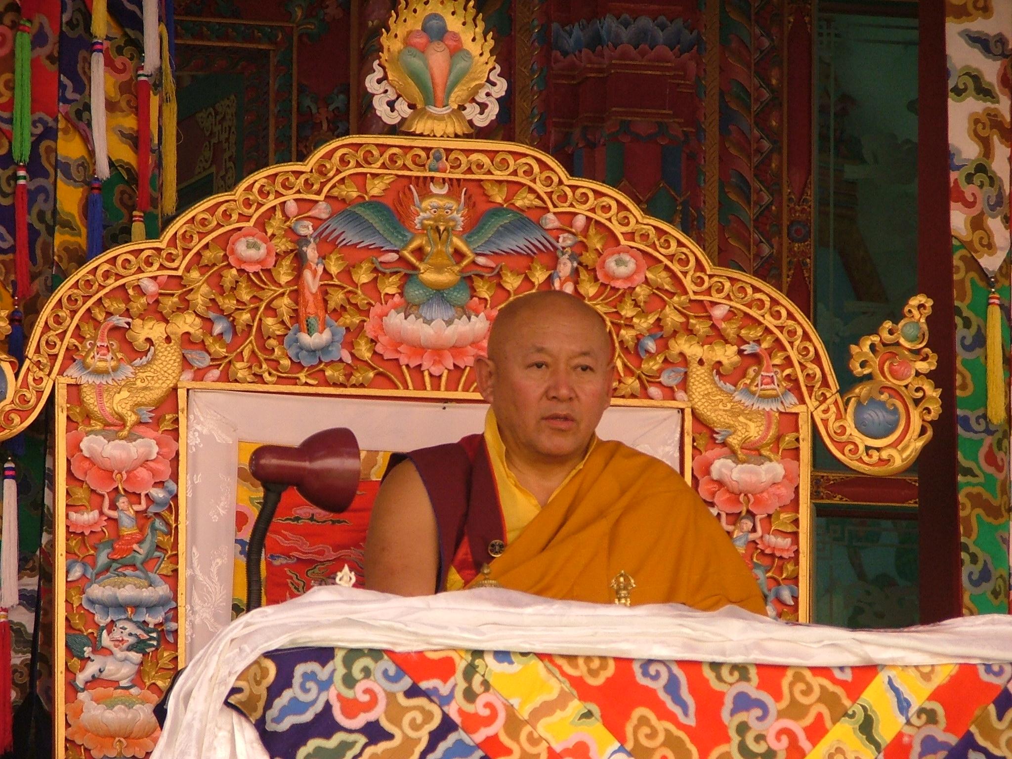 Sua Santità Drikung Kyabgon Chetsang Rinpoche: Le tappe di questo percorso sono state illustrate da Phagmo Drupa in conformità con gli insegnamenti del maestro Gampopa.