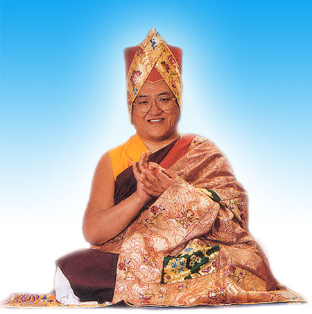 """His Holiness Sakya Trizin: """"Buddha Nature is within every human being""""."""