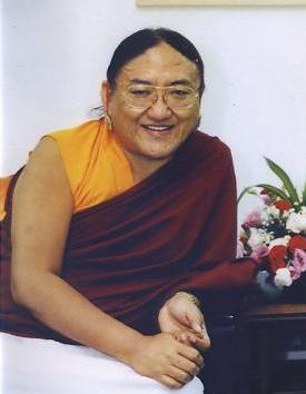 "His Holiness Sakya Trizin: ""By meditating on this precious human life and impermanence, you will be liberated from the sufferings inherent in this life.""."
