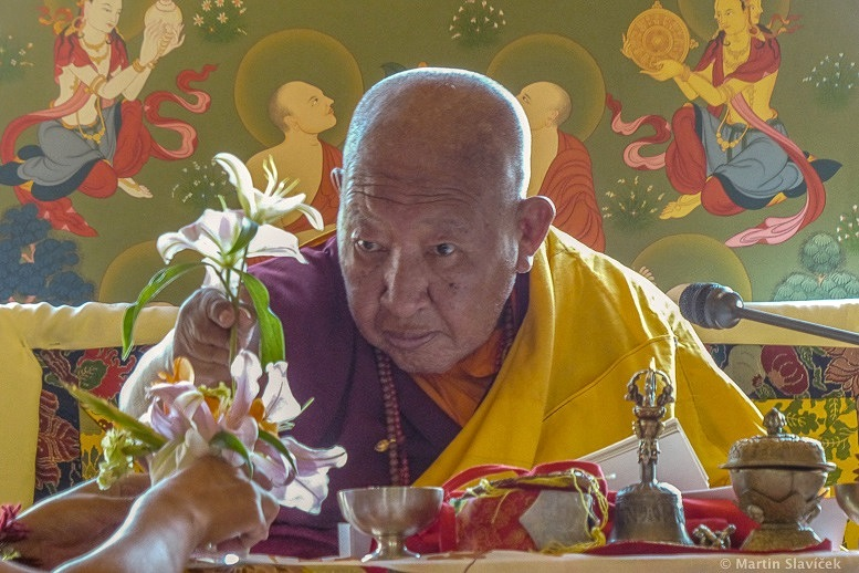 His Holiness Kyabje Taklung Tsetrul Rinpoche