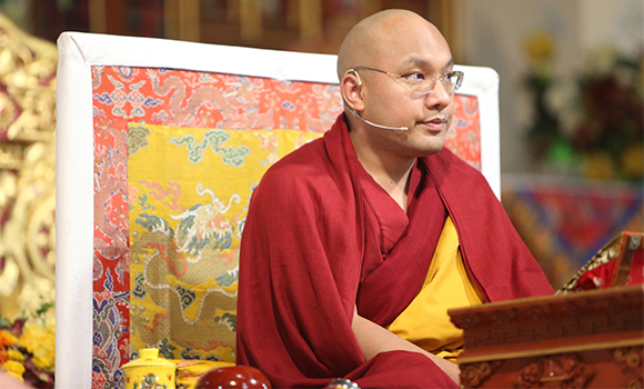 The Gyalwang Karmapa: it is more important to generate compassion for oneself than it is to generate it for others.