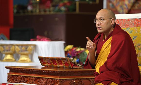 Sua Santità Gyalwang Karmapa: Abbiamo un potenziale innato per la compassione: ma lo dobbiamo formare, altrimenti non lo svilupperemo.