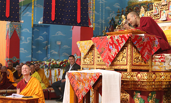 The Karmapa also explained why virtues are stronger than nonvirtues.