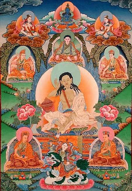 Milarepa: The common mind is in every way misleading; And so I practice how to animate Awareness.
