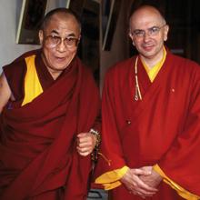Lama Denys Rinpoce con Sua Santità il Dalai Lama