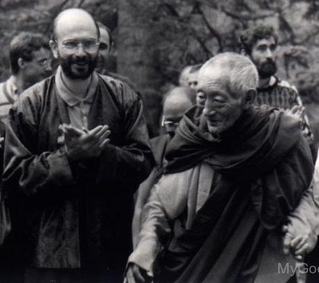 Kalu Rinpocè e Lama Denys