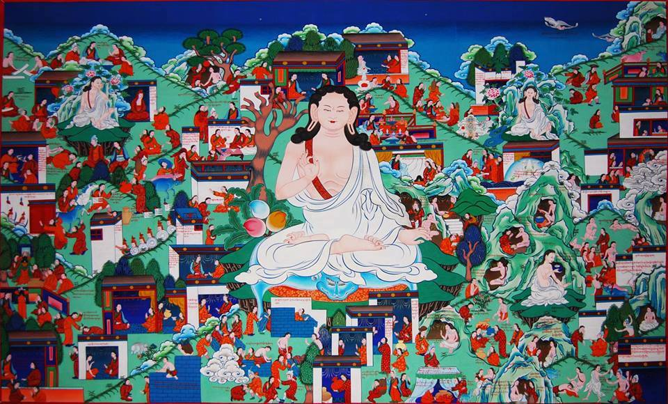 As he was saying these words, Milarepa was full of joy.