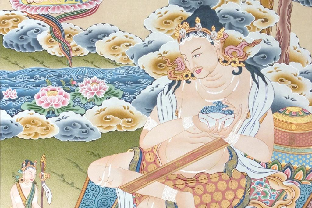 Naropa insisté finché non fu accettato dal maestro Tilopa.