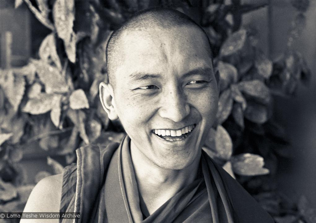 Kyabje Lama Zopa Rinpoche: Our practice of meditation, of mental cultivation, should not be passive.