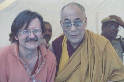 Sua Santità il Dalai Lama accoglie con gioia Luciano Villa