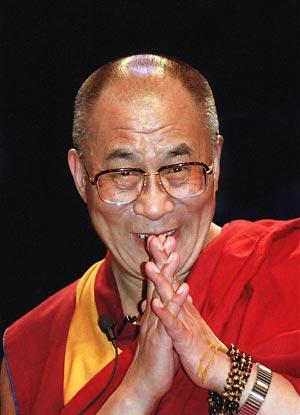 """Sua Santità il Dalai Lama: """"Vacuità e compassione, saggezza e metodo: sono queste le due colonne portanti della pratica Buddhista""""."""