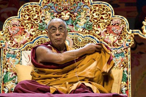"""Sua Santità il Dalai Lama: """"E' importante frequentare persone di altre tradizioni religiose, per comprenderle meglio""""."""