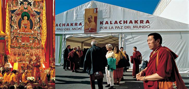 Il Kalachakra di Barcellona per la pace nel mondo conferito da Sua Santità il Dalai Lama 1994