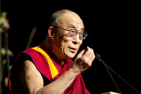 Sua Santità il Dalai Lama introduce ilsuo discorso alla Conferenza Mind and Life