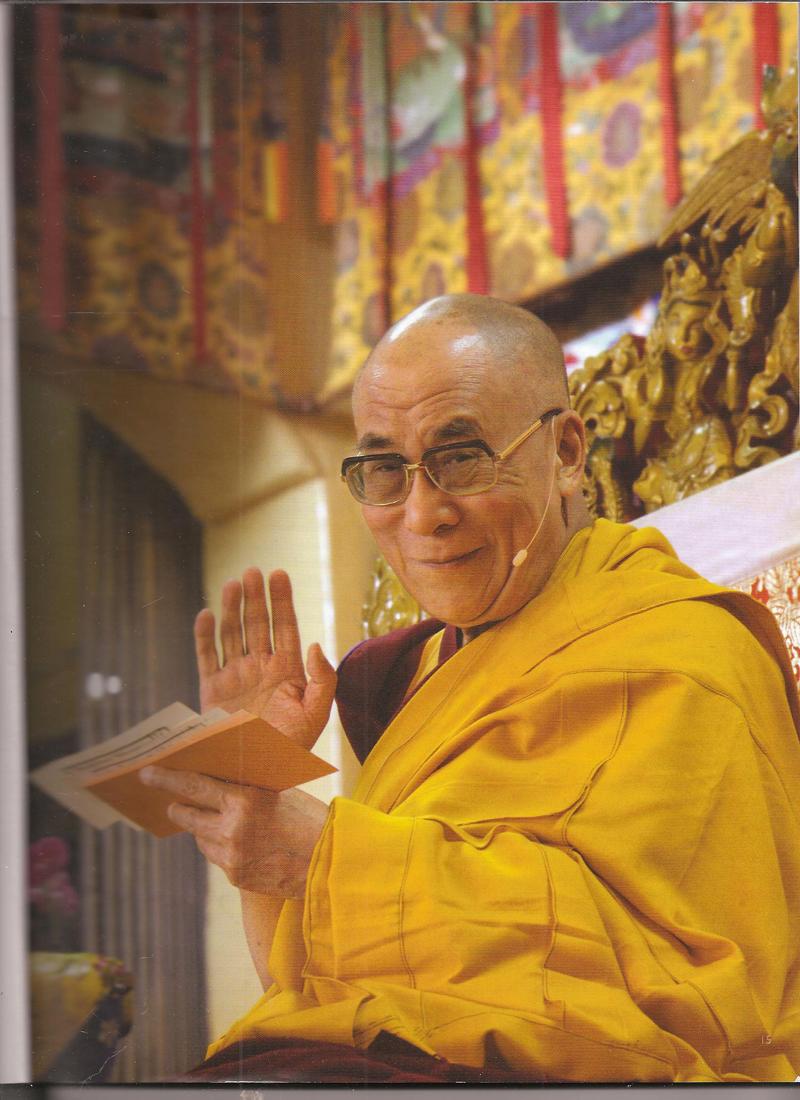 """Sua Santità il Dalai Lama, Kalachakra Washington DC: """"Anche l'attuale crisi morale è direttamente correlata con la caduta dei valori spirituali""""."""