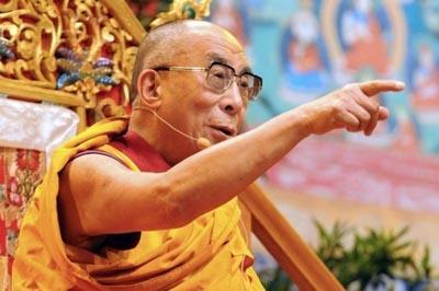 """Sua santità il Dalai Lama: """"Credo che in questo momento storico sia giunta l'ora di tornare alle radici della tradizione di Nalanda""""."""