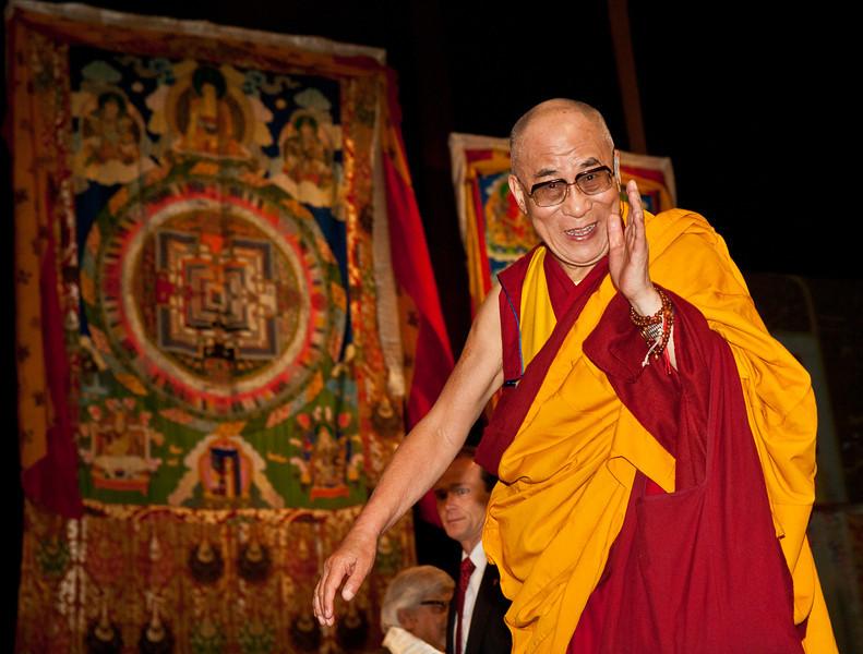 """Sua Santità il Dalai Lama Kalachakra Washington DC: """"Dio perdona il peccatore ma non il peccato """"."""