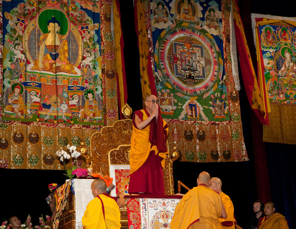 "Sua Santità il Dalai Lama Kalachakra Washington DC: ""Parliamo di Kalachakra, la ruota del tempo""."