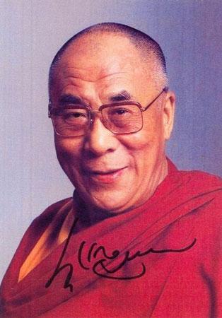 Sua Santità il Dalai Lama: La qualità della nostra vita, ciò che noi e nessun altro stiamo sperimentando proprio adesso, è il risultato diretto delle nostre attitudini e il comportamento che esse generano e non invece quelli di qualcun altro.