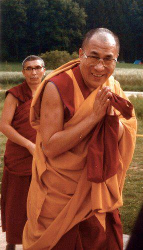 His Holiness the Dalai Lama: The practice of Dharma is that which enables us to be true, faithful, honest and humble, to help and respect others, to forget oneself for others.