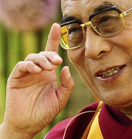 Sua Santità il Dalai Lama: L'amore e la gentilezza sono essenziali nella vita di ogni essere senziente.