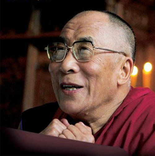 "His Holiness the Dalai Lama: ""If we can reduce self-centredness and cultivate an altruistic attitude this will reduce our stress and disturbing emotions and lead to a calm mind""."