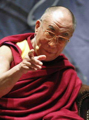 "His Holiness the Dalai Lama: ""The very reason that things perish and disintegrate is because they have a cause""."