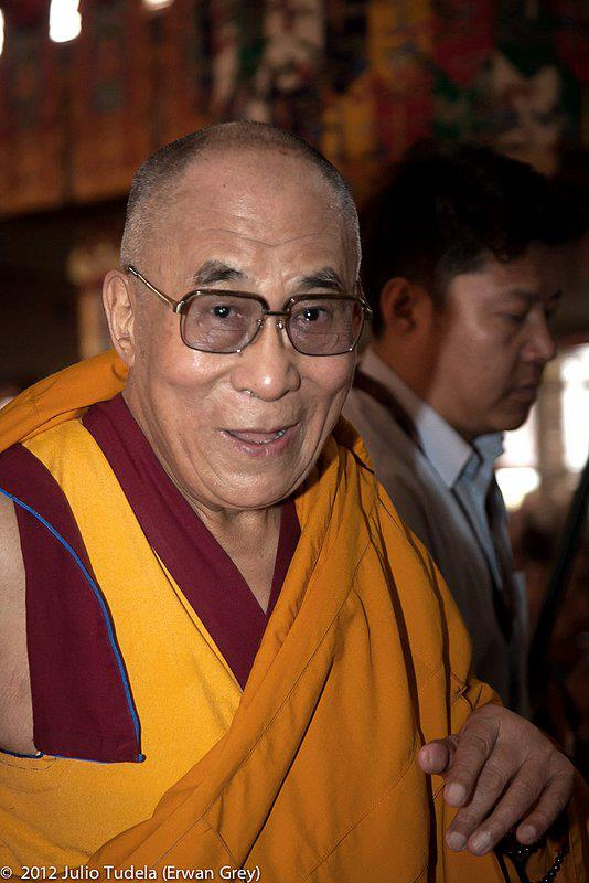 "His Holiness the Dalai Lama: ""Studying the root texts of the Nalanda masters is the best way to preserve the Nalanda tradition, which is at the root of Tibetan Buddhism""."