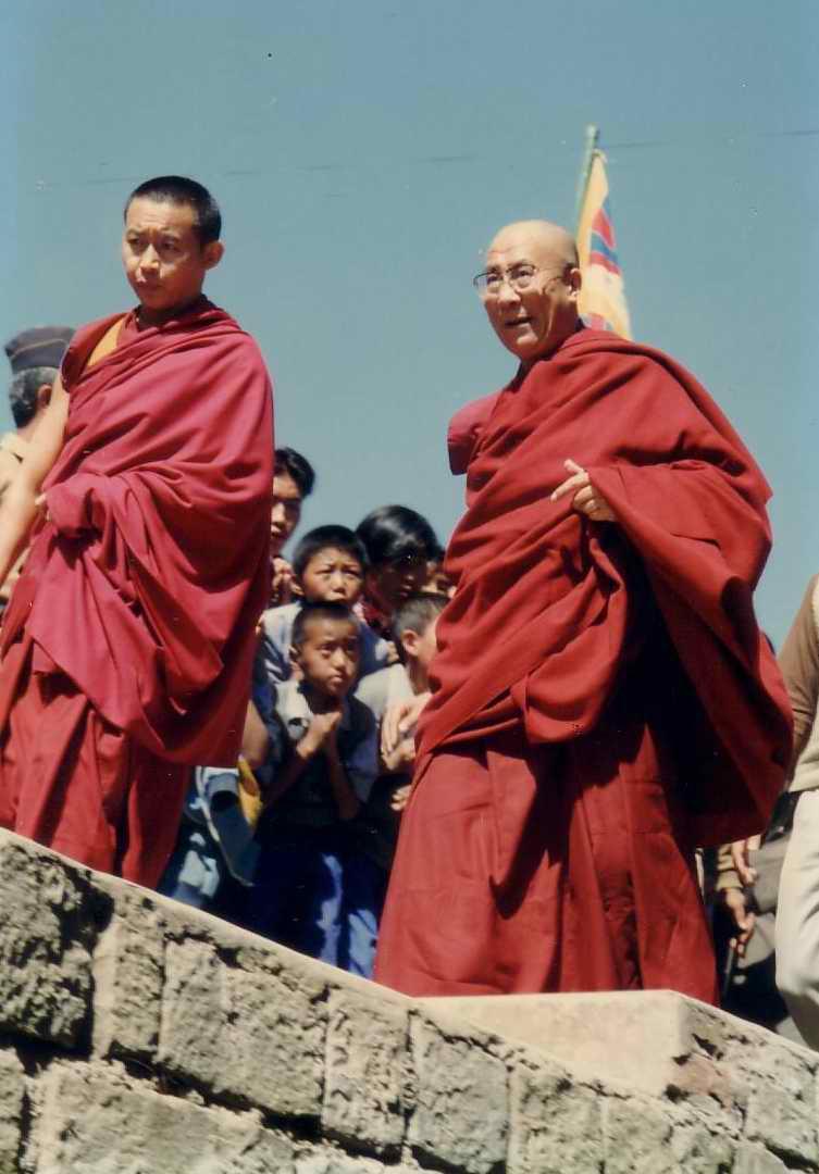 Sua Santità il Dalai Lama: Non vi scoraggiate mai.