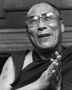 """Sua Santità il Dalai Lama: """"I buddhisti dicono che la rinascita è una realtà. È un fatto. Nel ciclo noto delle rinascite, che noi chiamiamo il samsara, si produce di tanto in tanto il fenomeno della reincarnazione."""""""